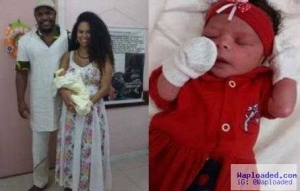 Photo: Brazilian officials refuse to register a baby